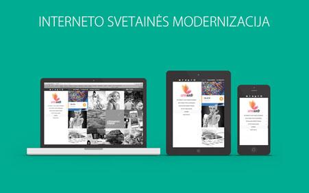 Interneto svetaines modernizacija
