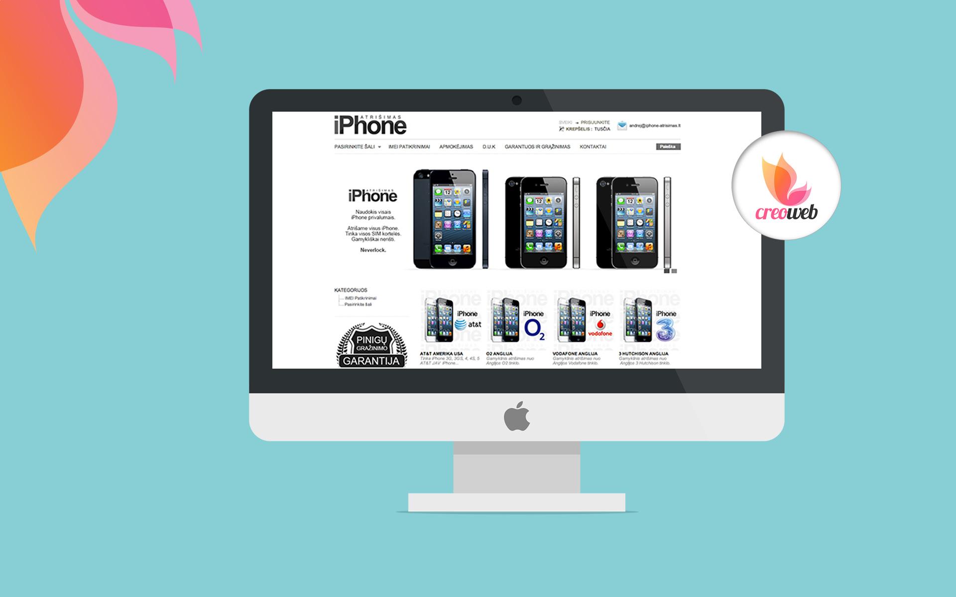 iPhone atrisimas